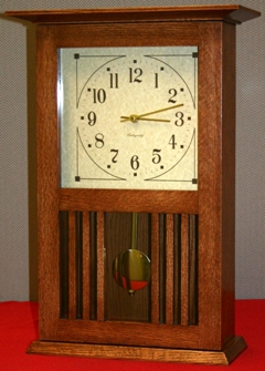 Mission Style Clock