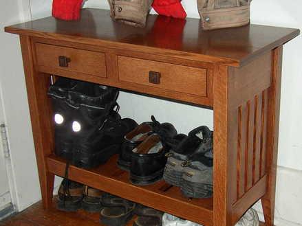 Mission Style Desk Plans PDF Woodworking