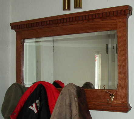 Picture of Mission Style Wall Mirror